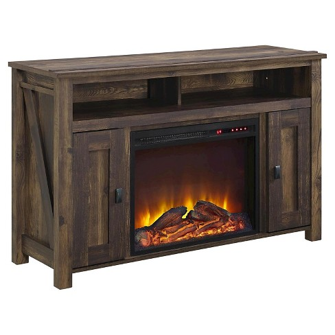 Brookside Electric Fireplace Tv Console For Tvs Up To 50 Room