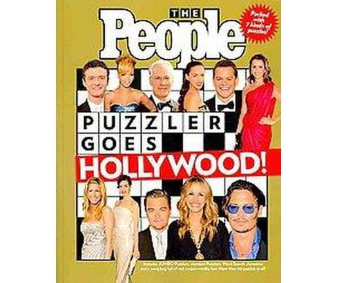 The People Puzzler Goes Hollywood! (Paperback) by People Magazine - image 1 of 1