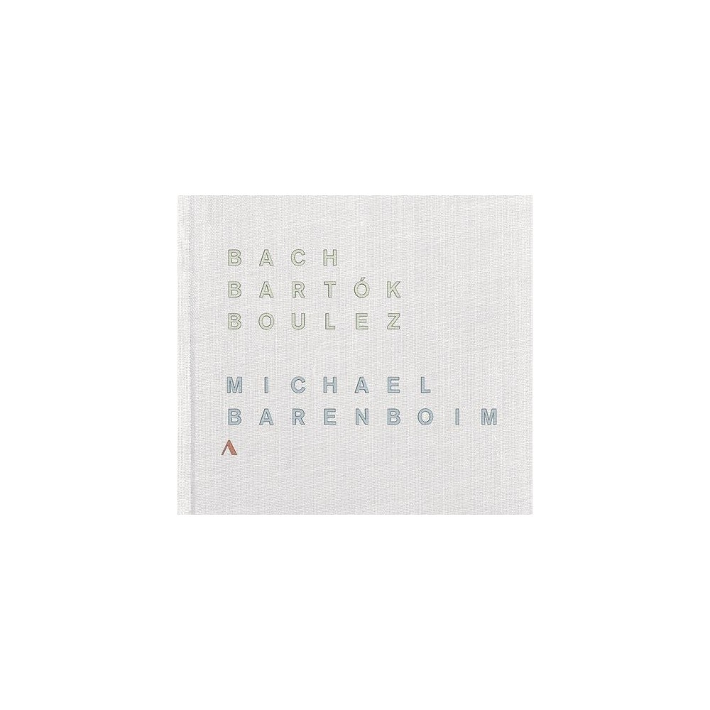Michael Barenboim - Bach Bartok & Boulez (CD)