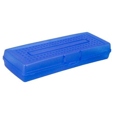 Storex® Pencil Box - Blue - image 1 of 2