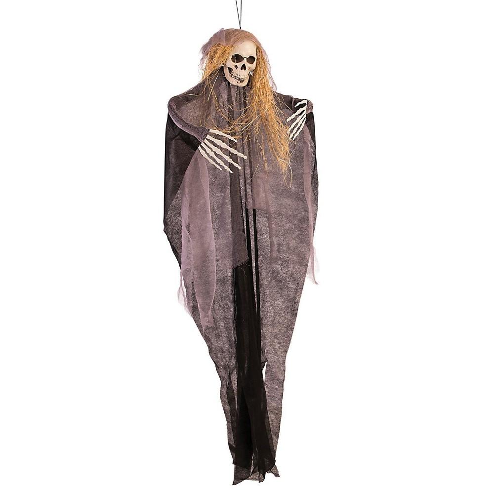 """Image of """"60"""""""" Halloween Skull Hanging Prop"""""""