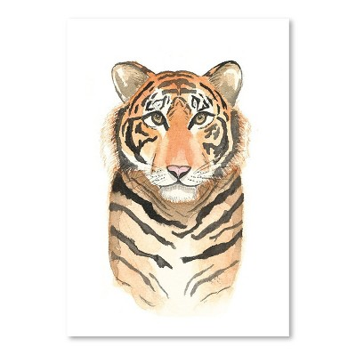 Americanflat Tiger by Cami Monet Poster