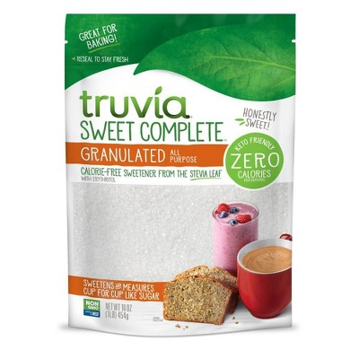 Truvia Sweet Complete Granulated Sweetener - 16oz