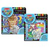 Melissa & Doug Stained Glass Made Easy Activity Kits Set: Owl and Unicorn - 180+ Stickers - image 2 of 4