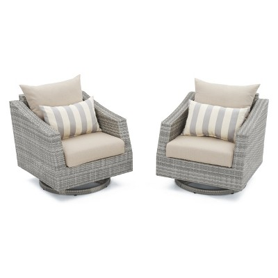 Delicieux RST Brands Cannes 2 Piece Of Woven Motion Club Chairs With Cushions : Target