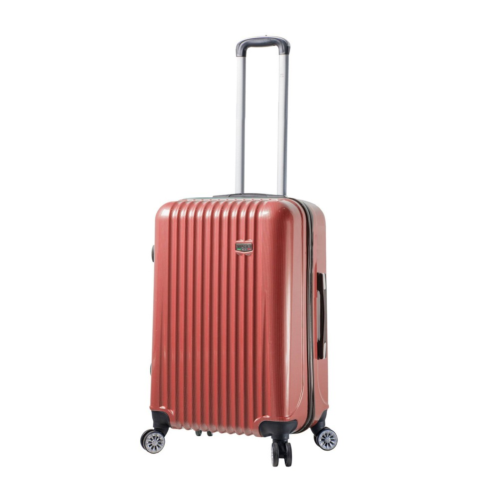 """Image of """"Mia Viaggi ITALY Lucca 24"""""""" Hardside Suitcase - Red"""""""