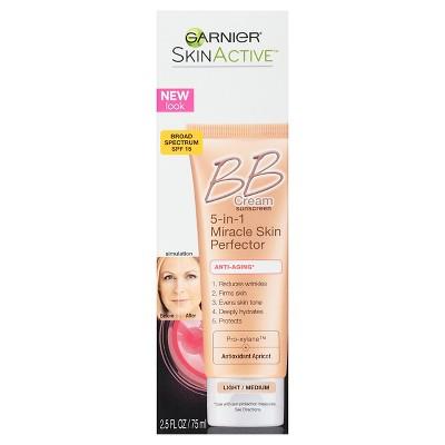 Face Makeup: Garnier SkinActive BB Cream Anti-Aging