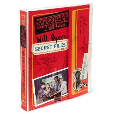 Will Byers: Secret Files (Stranger Things) - by Matthew J Gilbert (Bookbook - Detail Unspecified) (Hardcover)