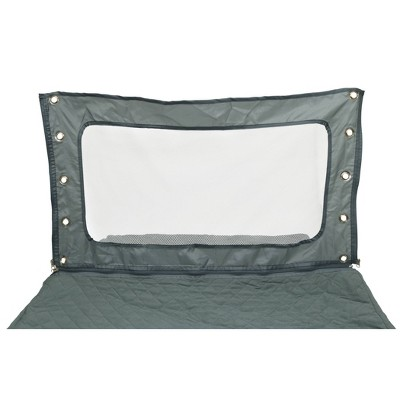 Romp & Roost LUXE Sheet with Divider - Gray