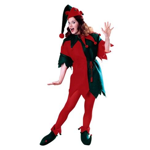 Women's Elf Tunic Costume Set Red - image 1 of 1