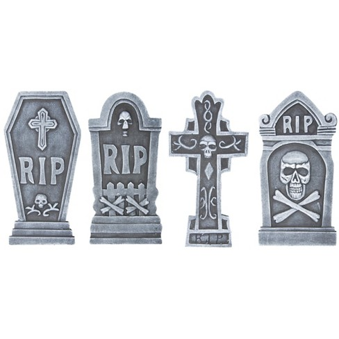 "16.5"" 4pc Halloween Tombstone Set - image 1 of 1"
