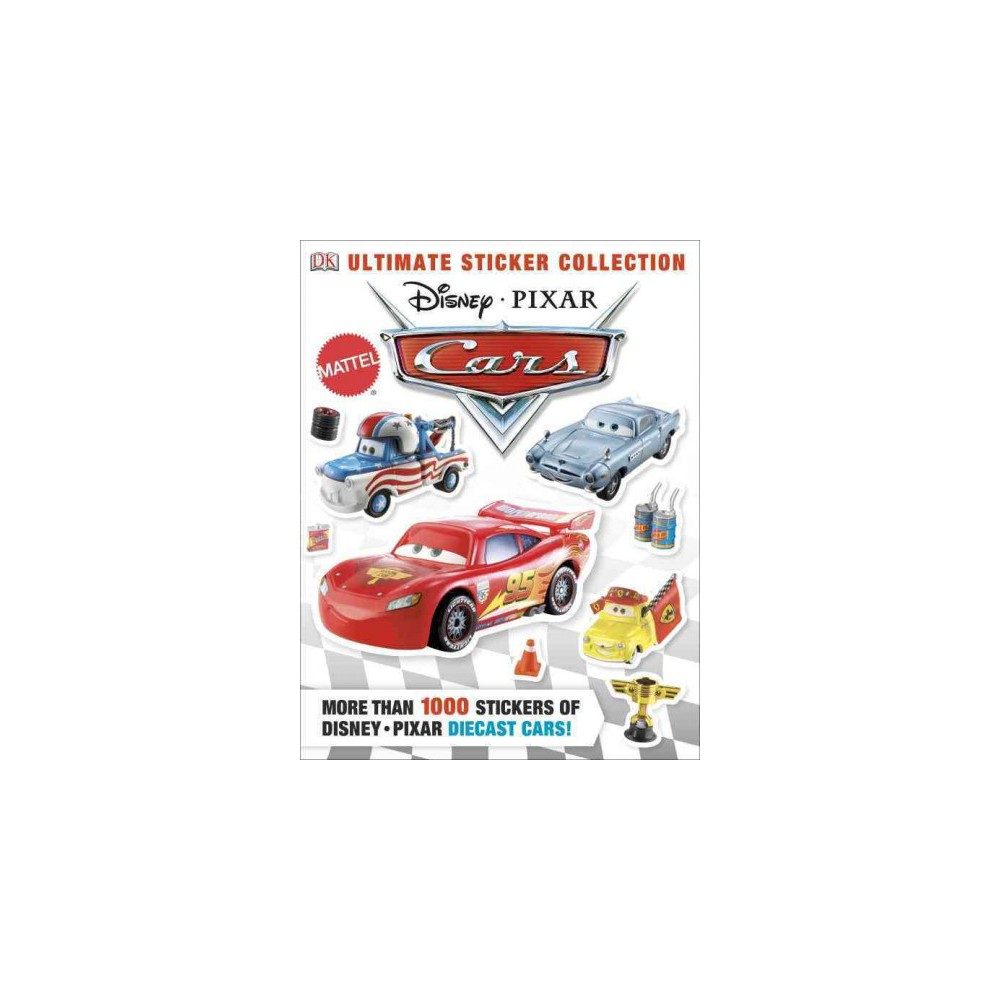 Cars - (Ultimate Sticker Collections) (Paperback)