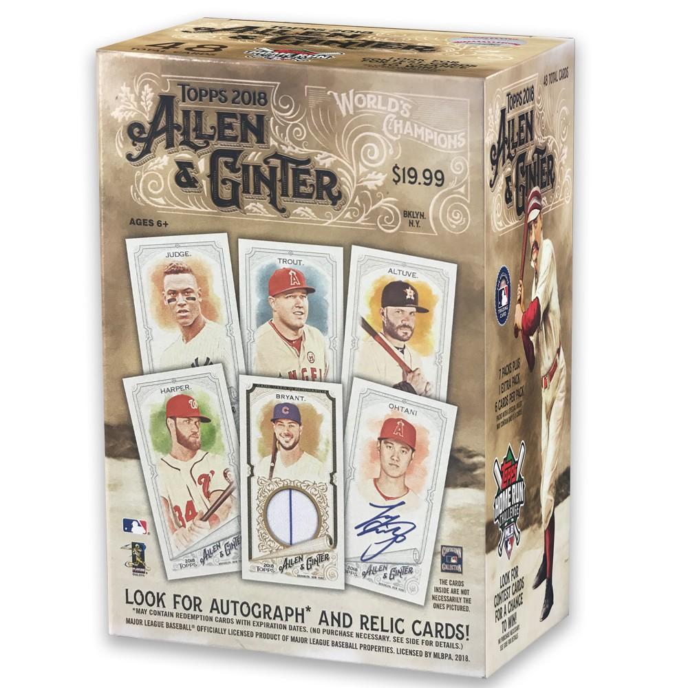 MLB Topps 2018 Allen & Ginter Trading Card Full Box