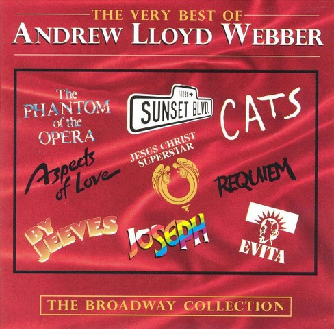 Andrew lloyd webber - Very best of andrew lloyd webber (CD) - image 1 of 2