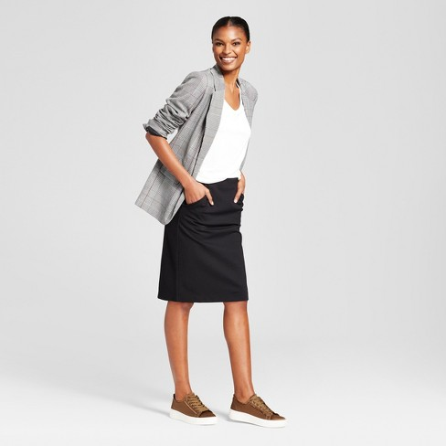 634a609865 Women s Ponte Pencil Mini Skirt - A New Day™   Target