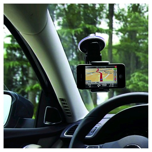 Macally Suction Cup Mount Phone/GPS/MP3/iPod/iPhone/iPad/Tablet/Smartphone