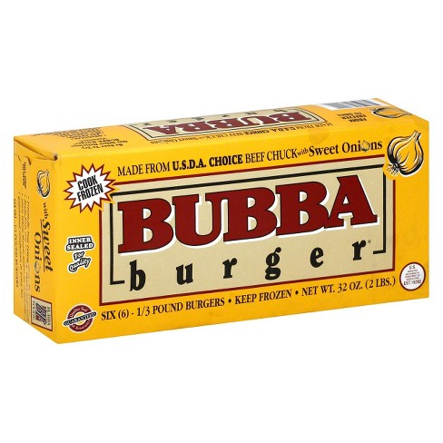 Bubba Burger® Beef Chuck with Sweet Onions Burgers - 6ct - image 1 of 2