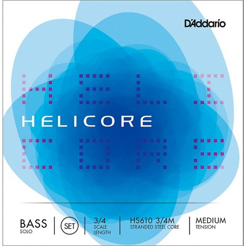 D'Addario HS610 Helicore Solo 3/4 Size Double Bass String Set - image 1 of 2