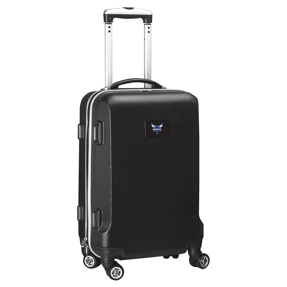 NBA Charlotte HornetsMojo Hardcase Spinner Carry On Suitcase - Black, Charlotte Hornets