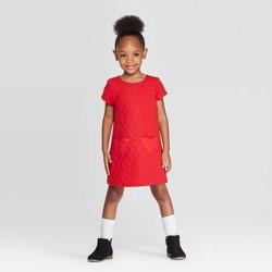 Toddler Girls' Heart Dress - Cat & Jack™ Red