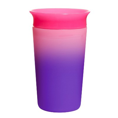 Munchkin Miracle 360° Color Changing Sippy Cup - Pink - 9oz