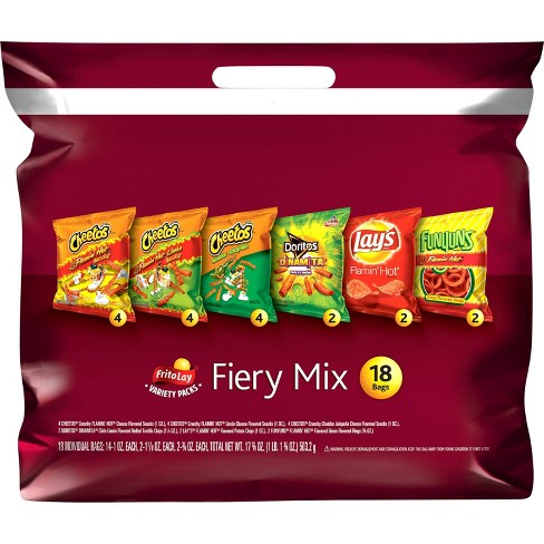 Frito-Lay Variety Pack Fiery Mix - 18ct - image 1 of 4