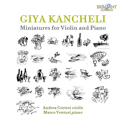 Marco Venturi - Kancheli:Miniatures For Violin And Pi (CD) - image 1 of 1