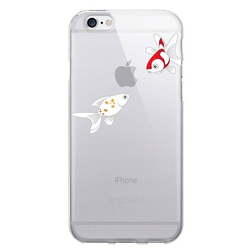 iPhone 6/6S Case - Otm Iconic Prints Clear - Goldfish