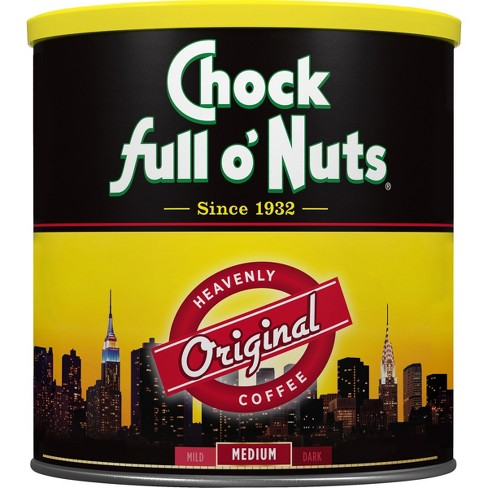 Chock Full O' Nuts Original Medium Roast Ground Coffee - 33.9oz - image 1 of 1