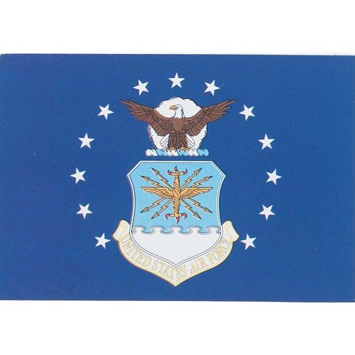 Halloween Armed Forces Flag - US Air Force - 4' x 6'