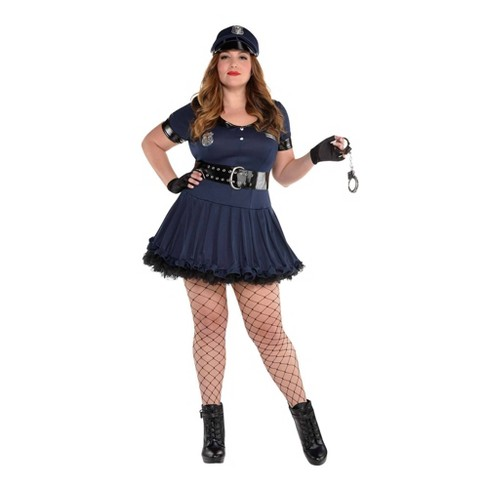 Women's Plus Locked N' Loaded Halloween Costume - image 1 of 1