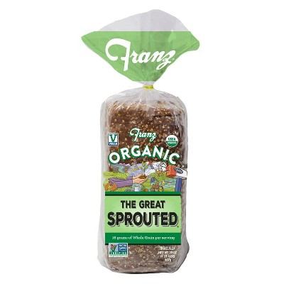 Franz Organic The Great Sprouted Bread - 20oz