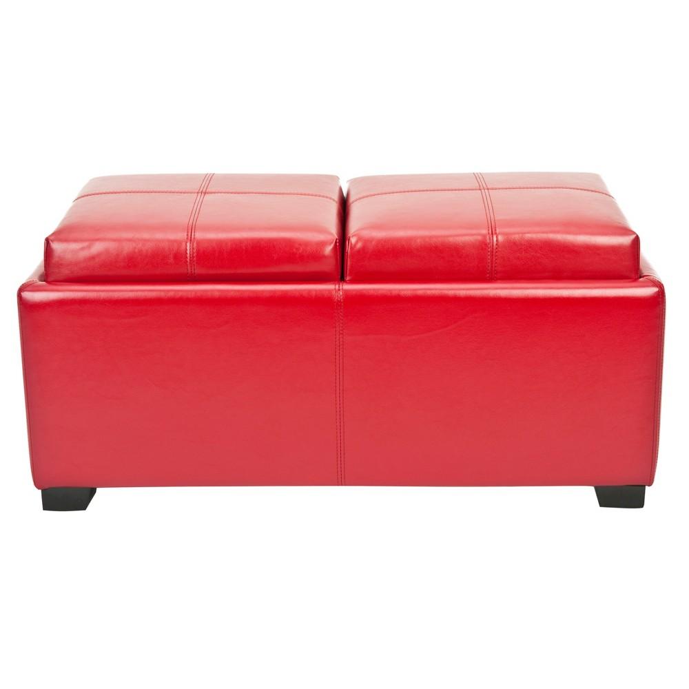 Storage Ottomans Red - Safavieh