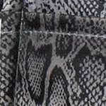 gray snake print