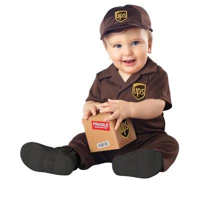 United Parcel Service UPS Baby Infant Costume