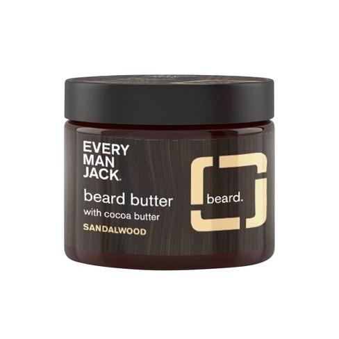 Every Man Jack Sandalwood Beard Butter - 4oz - image 1 of 2