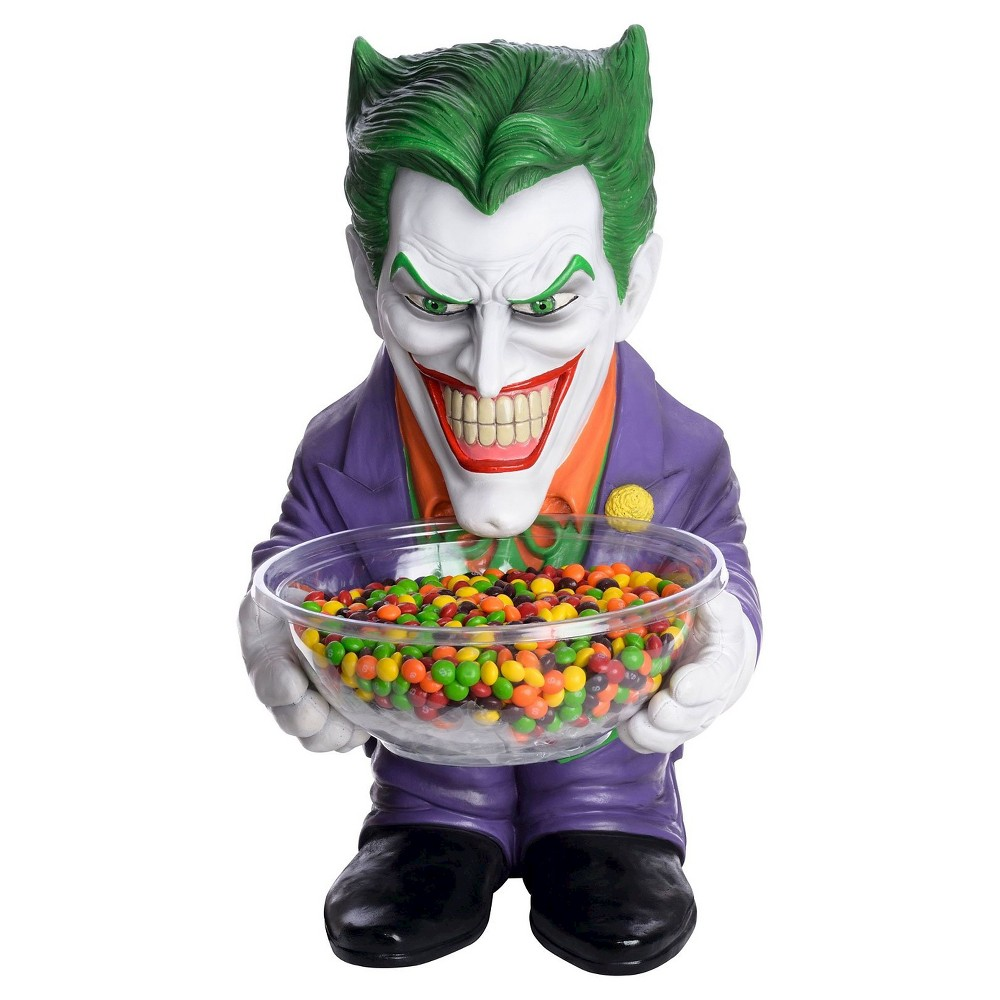 Image of The Joker Halloween Candy Bowl and Holder