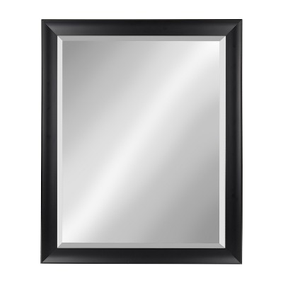 Kate And Laurel Scoop Framed Beveled Wall Mirror by Kate & Laurel All Things Decor