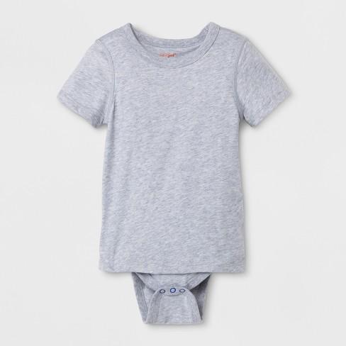 2e2a8d93e Toddler Boys' Adaptive Bodysuit - Cat & Jack™ Heather Gray : Target