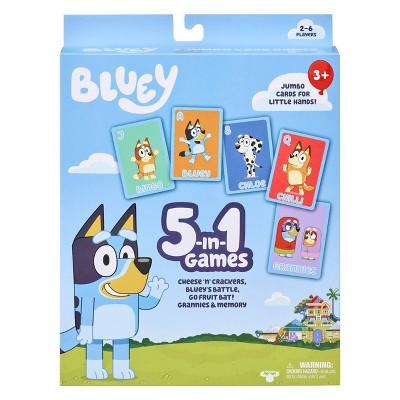 Bluey 5-in-1 Card Game