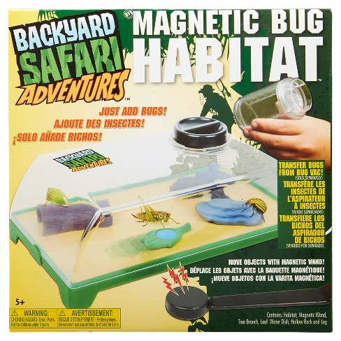 Backyard Safari Bug Habitat backyard safari magnetic bug habitat : target