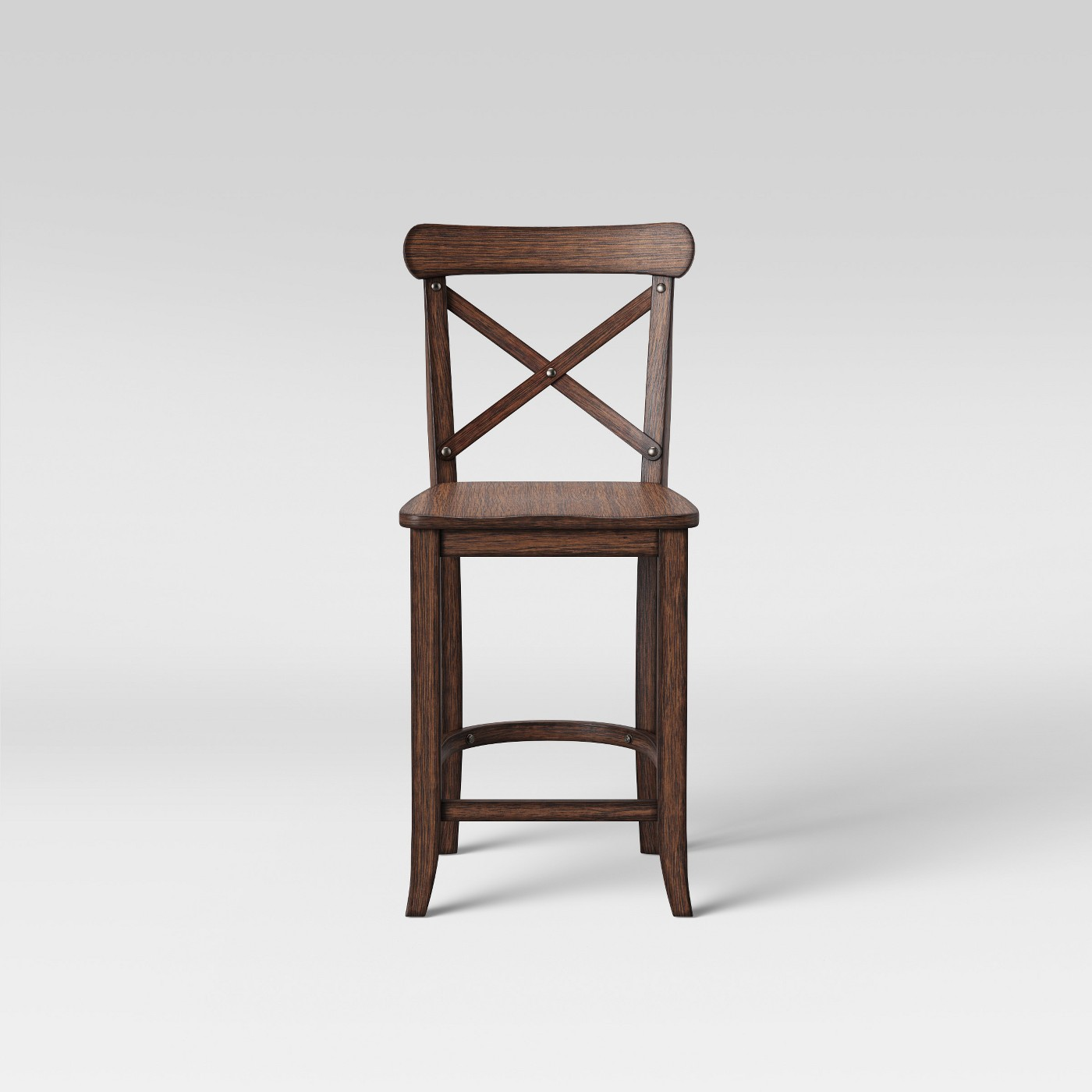 "Threshold 24"" Litchfield X-Back Counter Stool"