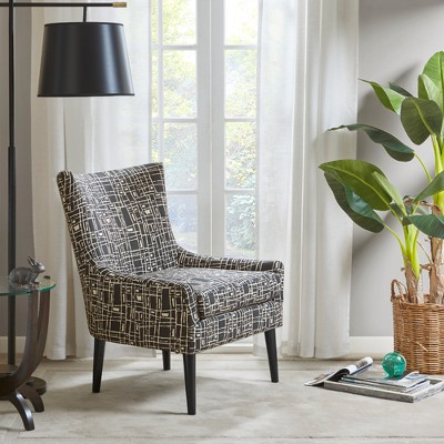 Merveilleux Accent Chairs Black Cream : Target