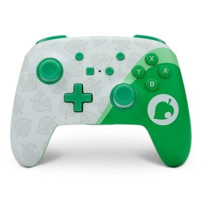 PowerA Enhanced Wireless Controller for Nintendo Switch - Animal Crossing Nook Inc.