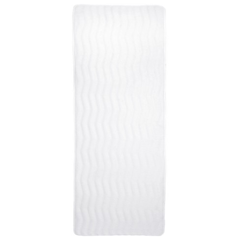 Extra Long Wave Memory Foam Bath Mat - Yorkshire Home - image 1 of 4