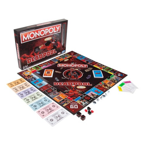 Monopoly Game: Marvel Deadpool Edition - image 1 of 4