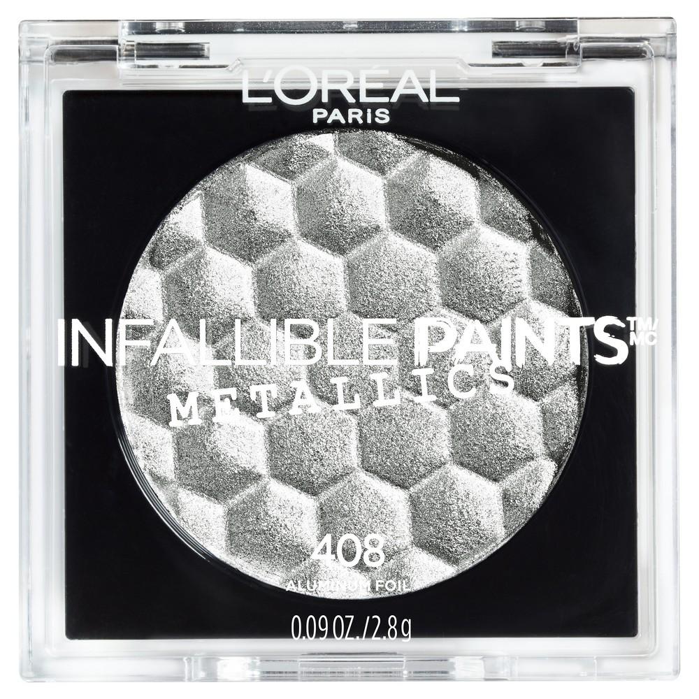 L Oreal Paris Infallible Eye Paints Metallics 408 Aluminium Foil 0 25oz