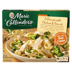 Marie Callenders Frozen Chicken Broccoli Alfredo Fettucine Dinner - 13oz