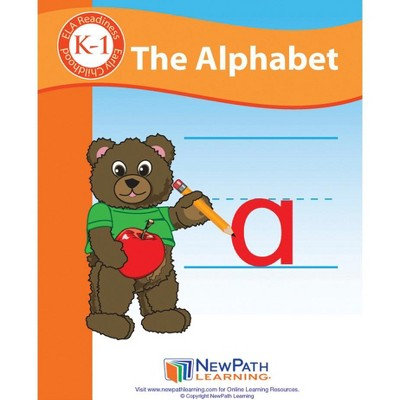 Newpath Learning The Alphabet Student Activity Guide, 44 Pages, Grade K to 1