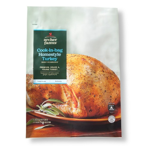 Cook In Bag Homestyle Turkey 12lbs Archer Farms